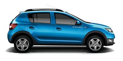 Acheter Sandero Stepway Blue dCi 95 + Vitres AR electriques + Roue de secours + Accoudoir AV chez un mandataire auto